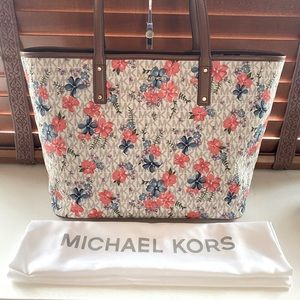 Michael Kors Floral Tote Brand New!